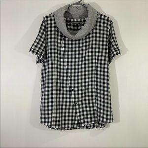 Antony Morato Men Assymmetry Light-wt Cotton Shirt